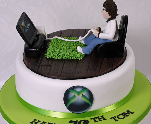 Xbox Cake A Photo On Flickriver