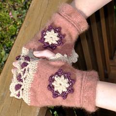 Upcycled possum jumper sleeves (Kiwi Little Things) Tags: