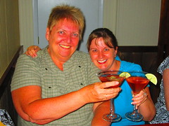 Deb & me (Spike's Honey) Tags: street me bar pie md pub cross hill maryland social baltimore drinks 25 e lime federal cosmos
