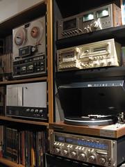 EDS 24 (Mellonkurt) Tags: vintage turntable stereo cassette audio hifi reeltoreel akai marantz nakamichi