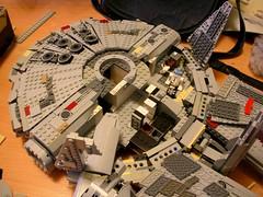 And So it Continues (Shrimpkin) Tags: starwars mod lego millennium falcon custom remake rebuild hansolo moc 7965