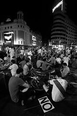#Viernes13 (Javi.H) Tags: madrid street urban espaa sol calle los spain no centro revolution revolucin calles parlamento 15m viernes recortes trece diputados viernes13 viernestrece
