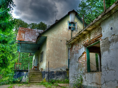 Abandon (DomiKetu) Tags: house building abandoned nikon decay abandon romania hdr decayed vr lr arad lightroom roumanie photomatix 18105mm hdraddicted d5100 debalagora