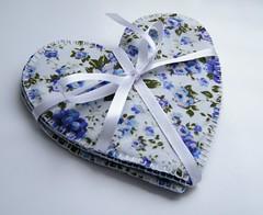 Coasters de coração (Ateliê Imaginário - Camila) Tags: porta coração coaster copos tecido