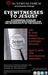 Chicago (The Veritas Forum) Tags: debate dialogue apologetics veritasforum bigquestions lifeshardestquestions