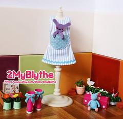 Blythe Dress-Little Bunny In My Pocket