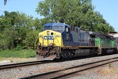 CSX CW44AH 291 (capsfan1222) Tags: railroad train canon diesel sigma locomotive ge generalelectric csx marionohio ac4400cw sigma1750 canoneos60d cw44ah