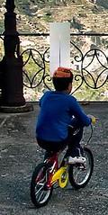 1 (francesco bellizzi) Tags: blue boy sea sky panorama nature beautiful bike bicycle landscape fun coast kid funny mediterraneo italia mare campania cyclist child ride mr outdoor cielo biking biker ravello salerno bicicletta bambino luoghi costieraamalfitana orizzontale geocollection