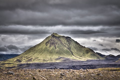 Green volcano (eydis) Tags: mountain green nature landscape volcano iceland highland hdr hattfell