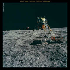 Apollo 11 Mission - 16/07/1969 - 24/07/1969 : Moon Landing (Craig Jewell Photography) Tags: space unitedstatesofamerica astronaut surface nasa hasselblad crater armstrong aldrin collins moonlanding lander apollo11 moonlander lunarlander as11 lunarlandingmodule expeditionas11 httpeoljscnasagov as11405950