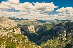 Gorges du Verdon Mountains (Anadal Xel-Grip) Tags: skyporn france landscape mountains cloudsporn world sun picture beautiful rivers pics sky place roads clouds var mountainrange