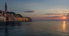 Un soir  Rovinj / One evening at Rovinj (YS-Photography) Tags: adriatique paysagesmarins coucherdesoleil mer publication sea