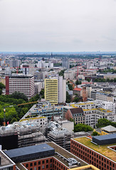 Berlin from above (Maria Eklind) Tags: city berlin architecture germany deutschland view fromabove potsdamerplatz tyskland euorpe berlinview panormapunkt