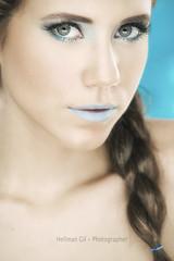 Karime (hellman2) Tags: makeup makeupartist eyes lips blue skin hair beauty girls glamour fashiongirl people gente