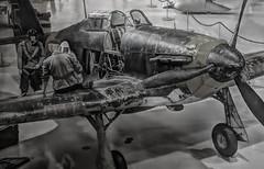Maintaining Hurricane (STTH64) Tags: hawkerhurricane airplane warbird war ww2 finland airforce clasiic legend pilot mechanic maintenance soldier