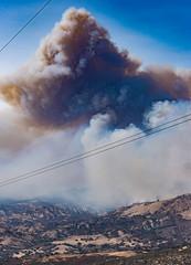 Rey Fire (beltz6) Tags: reyfire wildfire smoke apocalypse apocalyptic