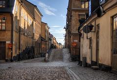 a street in Slussen in Stockholm (neilalderney123) Tags: 2016neilhoward sweden street olympus omd stockholm slussen architecture