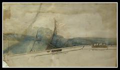 A Map of the Arno East of Florence (veggiesosage) Tags: nottinghamcastle nottingham leonardodavinci drawings exhibition fujifilm fujifilmx20 x20