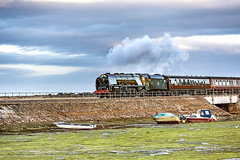Royal Duchy_2016_08_07_054 (Phil_the_photter) Tags: royalduchy 46233 duchessofsutherland steam steamengine steamloco dawlish cockwoodharbour