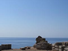 Acropolis Seascape (danniecat1) Tags: rhodos sea lindos greece