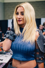 Holly Wolf (philabucay) Tags: fanexpo fan expo canada toronto 2016 convention anime scifi comics horror black cat final fantasy chrono trigger street fighter star trek dr who