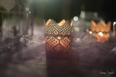 Wedding's detail (Simona Puglisi) Tags: wedding detail candel light evening licht kerze hochzeit decorazione dekoration decoration ornament sicilia sicily love pink rosa bokeh naturallight nikon nikond90 closeup stilllife beyondbokeh 50mm nikkor afnikkor50mmf18d