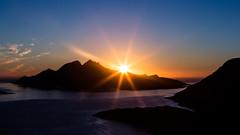 Sunset over Vengsy, Troms (Einar Angelsen) Tags: mountain norway norge trehrningen sun sunlight sunset light ocean