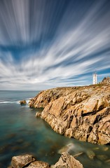Frankreich / Bretagne / Saint Mathieu (Silly Photography) Tags: france frankreich saintmathieu sea seascape meer atlantik lighthouse leutturm ruine longexposure langzeitbelichtung landschaft landscape brittany bretagne europa europe sillyphotography