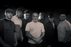 The Launchers - and Promo Shots (RP Photography Solutions - Band and Events) Tags: the launchers promotional images ska regge music 7 seven piece band london uk live scene sw chilling out having fun off hook pop up professional photography cool classy style bands events rp solutions camera flash lighting basic set simple quick edge edgy rugged rough warm
