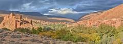 Dades Gorge, Morocco (ott.geoffrey) Tags: dadesgorge morocco kasbah ruins mud valley sunset town village