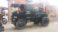 1924 Super Sentinel Steam Waggon SV5525 (Richard.Crockett 64) Tags: supersentinel sentinel steamwaggon lorry truck sv5525 commercialvehicle northweald station essex 2016