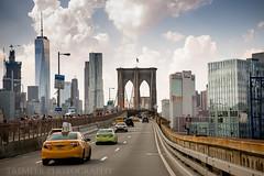 Brooklyn Bridge, New York (TremeerPhotography) Tags: new york manhatten yellow cab brooklyn bridge