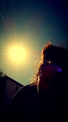 #sun #bright #selfie #summer #clearskies (amygore) Tags: summer selfie sun clearskies bright