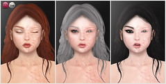 Wounded Angel Skin & Eyes Preview (for Uber) (Izzie Button (Izzie's)) Tags: uber izzies catwa skin sl halloween burnt