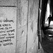Poetry - Lecce, Italy - Black and white street photography