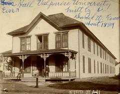 Eiss Hall at Valparaiso University, circa 1905 - Valparaiso, Indiana (Shook Photos) Tags: photograph photographs eisshall dorm dormitory boardinghouse valparaisouniversity valparaisoindiana valparaiso indiana portercounty