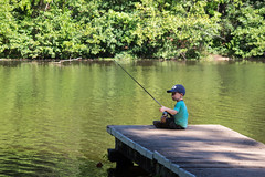 Gone fishing (agasfer) Tags: 2016 southcarolina paris mountain state park pentx k3 smcpentaxda145855300mmed kids children