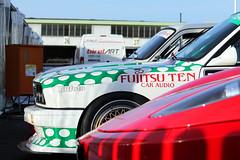 Sorry Ferrari but in this case I take the BMW... (Stijn Braes) Tags: ferrari 430 scuderia bmw m3 e30 dtm oldtimer grand prix nrburgring 2016