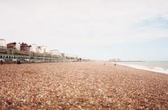 019_19 (Otegaa) Tags: grain rocks beach brighton city colour color film 35mm mv pentax 400 xtra superia fujifilm