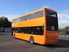 Lloyds Coaches YJ65EPU Donington Park Circuit attending Showbus 2016 (1) (1280x960) (dearingbuspix) Tags: demonstrator optare showbus showbus2016 yj65epu lloydscoaches lloyds optaremetrodecker