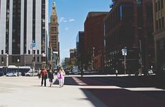 16th Street Mall Denver, Colorado (seanmugs) Tags: 16thstreetmall denvercolorado colorado denver danielsfishertower 35mm nikon35mmf18gafsdxlens streetscape streetscene architecture