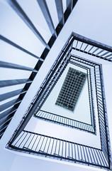 spiral staircase (MyMUCPics) Tags: mnchen munich september 2016 interior treppe treppenhaus stairs staircase design indoor architektur architecture wendeltreppe spiral abstrakt abstract