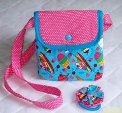 Bolsa Colors (Pé de Pimenta) Tags: infantil bolsa crianças meninas tecido costura acessórios bolsainfantil kitmeninas