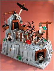 -Indian treasure hunting.- (Fianat) Tags: house brick set mine gun lego russia contest western tnt orient