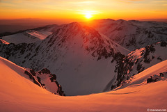 morning at the highest point in Balkans, Musala peak 2925m (.:: Maya ::.) Tags: park winter mountain snow nature sunrise peak bulgaria rila national    musala        mayaeye mayakarkalicheva