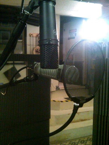 Getting ready to Record - Twanger Studios