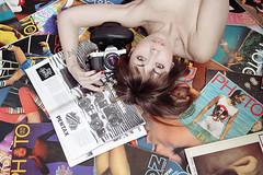 life (mickiky) Tags: camera portrait woman selfportrait me magazine myself photo donna foto photographer pentax autoritratto remotecontrol fotografia ritratto autoscatto riviste