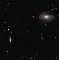 Bode's Galaxy M81 and M82 2012 (BudgetAstro) Tags: nikond70 ngc3034 galaxy astrophotography astronomy ursamajor dss ngc3031 m82 m81 astroimaging deepskystacker bodesgalaxy messier81 messier82 Astrometrydotnet:status=solved Astrometrydotnet:version=14400 Astrometrydotnet:id=alpha20120541480070