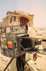 Akropolis Polaroid Fotograf 1974