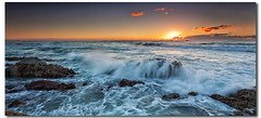 Sunday Morning (danishpm) Tags: ocean sea seascape beach sunrise canon rocks australia wideangle aussie aus 1020mm manfrotto sigmalens northernnsw eos450d hastingspoint 450d sorenmartensen tweedarea 06ndsoftgrad hitechgradfilters 09ndreversegrad